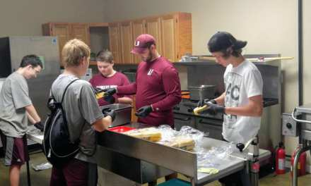 Unaka football giving back to community