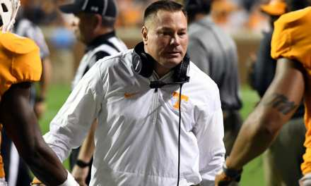 Jones out as Tennessee head coach