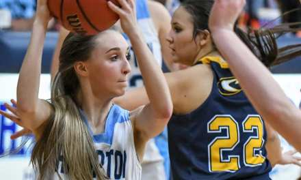 Hampton takes split over Cloudland