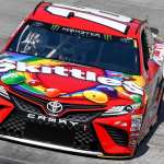 Busch takes victory at chilly Food City 500 with late pass