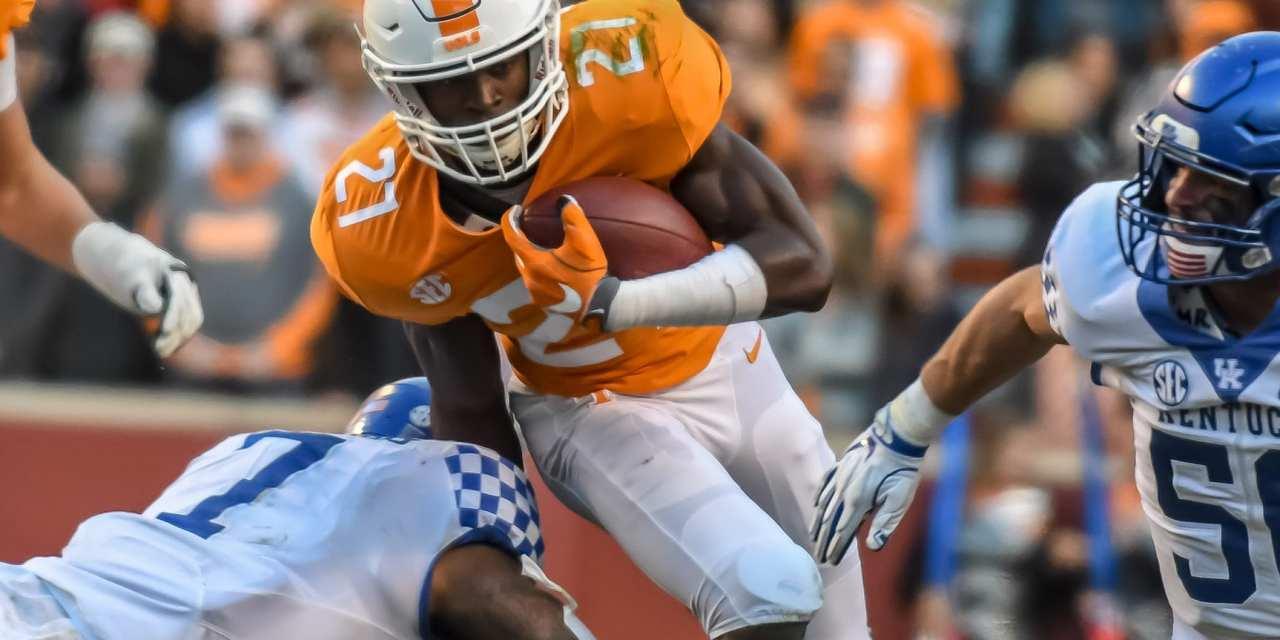 Vols tame Kentucky for upset win