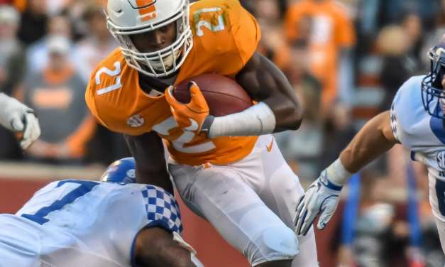 Vols tame Kentucky for upset win
