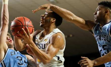 Tisdale's career night fuels ETSU past The Citadel