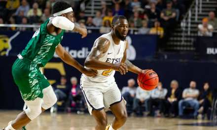 Short-handed Bucs rally but fall to Green Bay in opening round of CIT