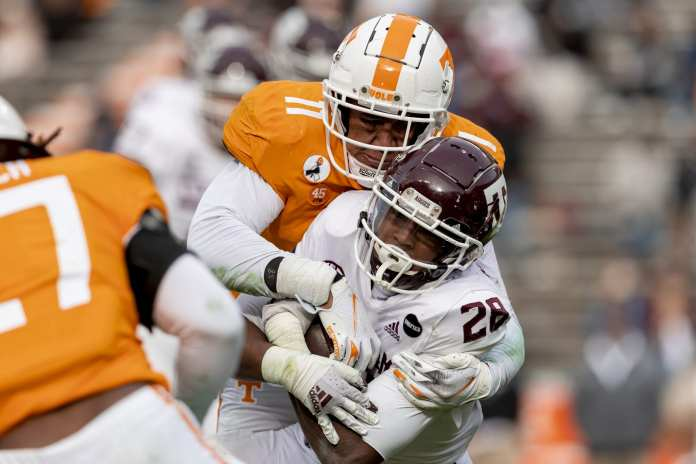 Vols Unable to Keep Pace with No. 5 Texas A&M