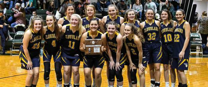 Lady 'Landers Fall Short in District 1-A Title Game