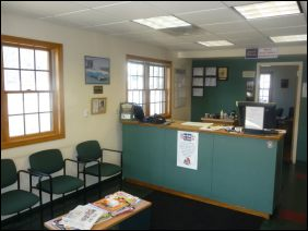 Carter's Auto Service, Gorham Maine, Waiting Room