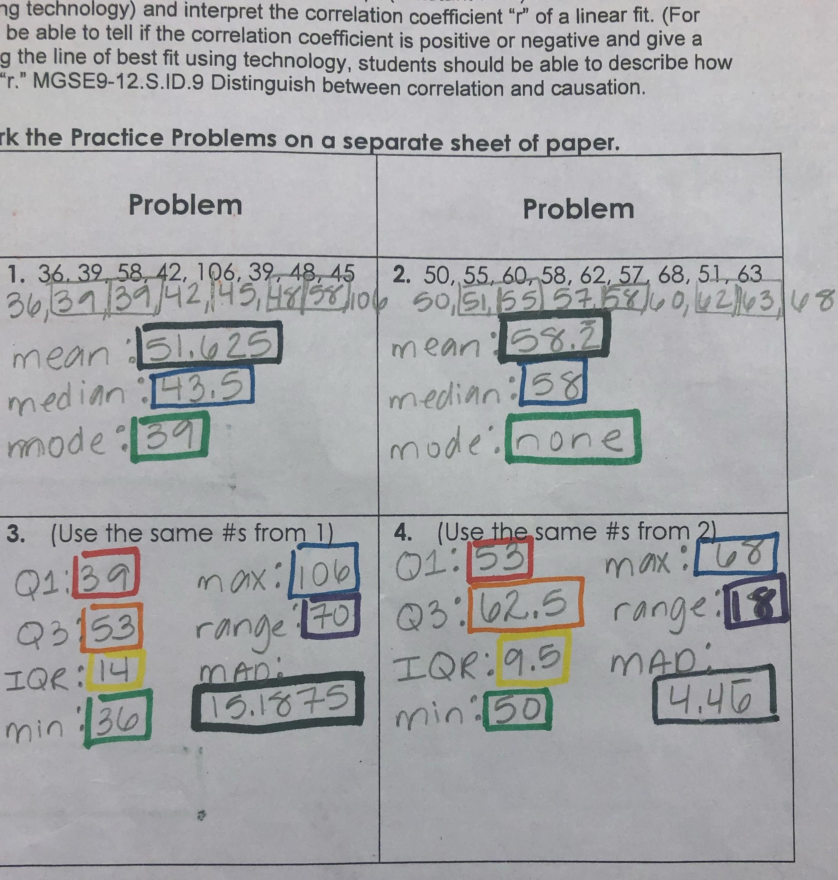 Interpreting Expressions Worksheet Answer Key