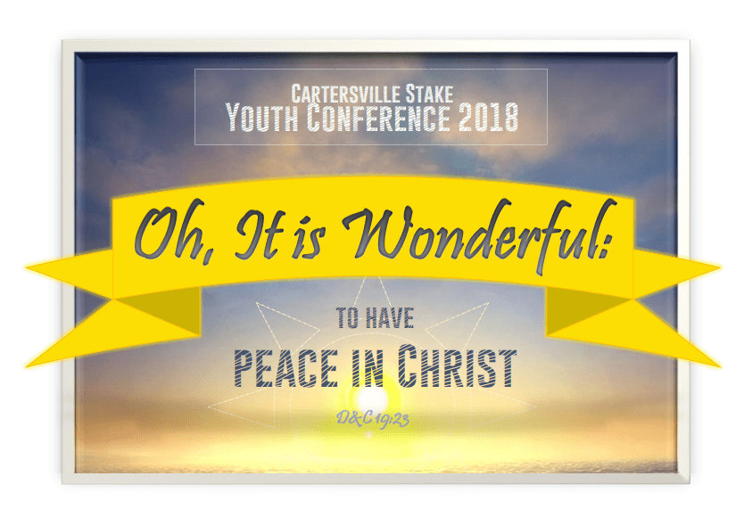 2018 Youth Conference Info *UPDATED 3/20*