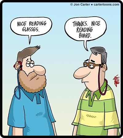 Reading-Beard
