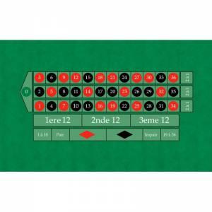 tapis de roulette anglaise 130 x 80 cm rectangulaire jersey neoprene 4 couleurs
