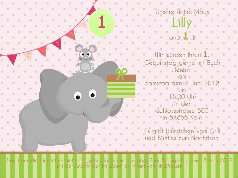 Einladung Kindergeburtstag Text 3 Geburtstag