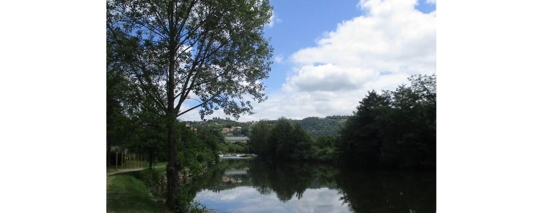 L'Aveyron à Villefranche-de-Rouergue