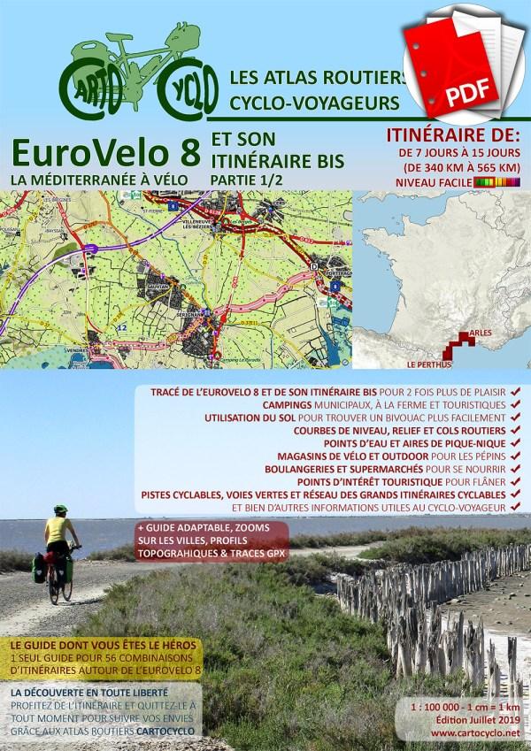 L'EuroVelo 8 et son Itinéraire Bis