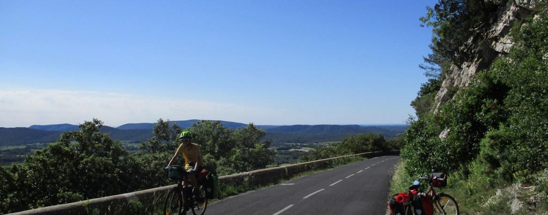 Sur la route du Pic Saint-Loup