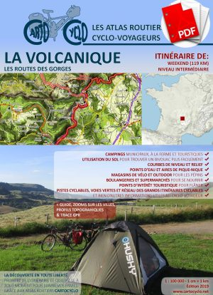 La Volcanique Weekend, Couverture