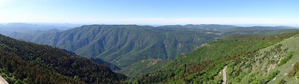 Sur le Mont Aigoual et sans nuages