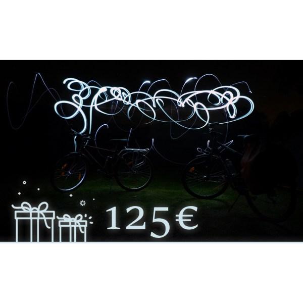 Carte Cadeau de 125€
