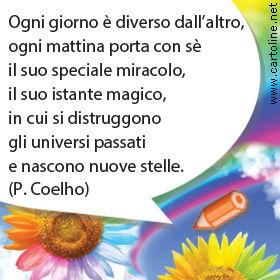 Frase Di Paulo Coelho Per Buongiorno