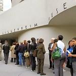 La coda del Guggenheim