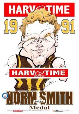 1991 Norm Smith Paul Dear