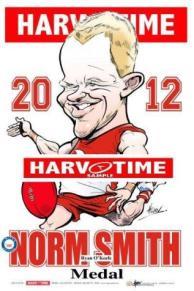 Harv Time Norm Smith Medal Print 2012