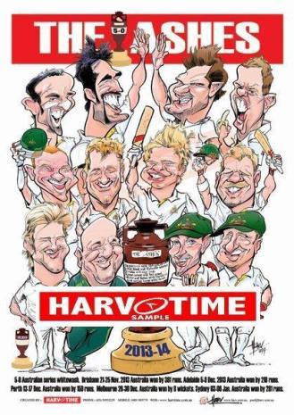 Ashes Series Print 2013-2014