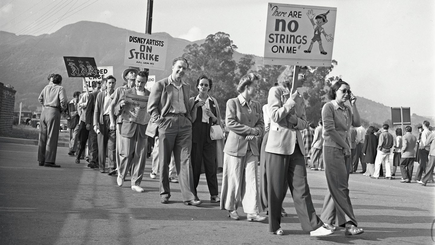 Image result for Disney's reactions to the 1941 animators strike