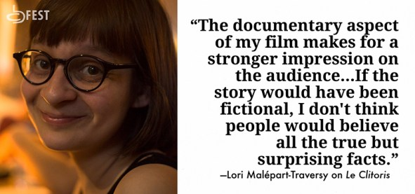 Lori Malépart-Traversy on her film Le Clitoris