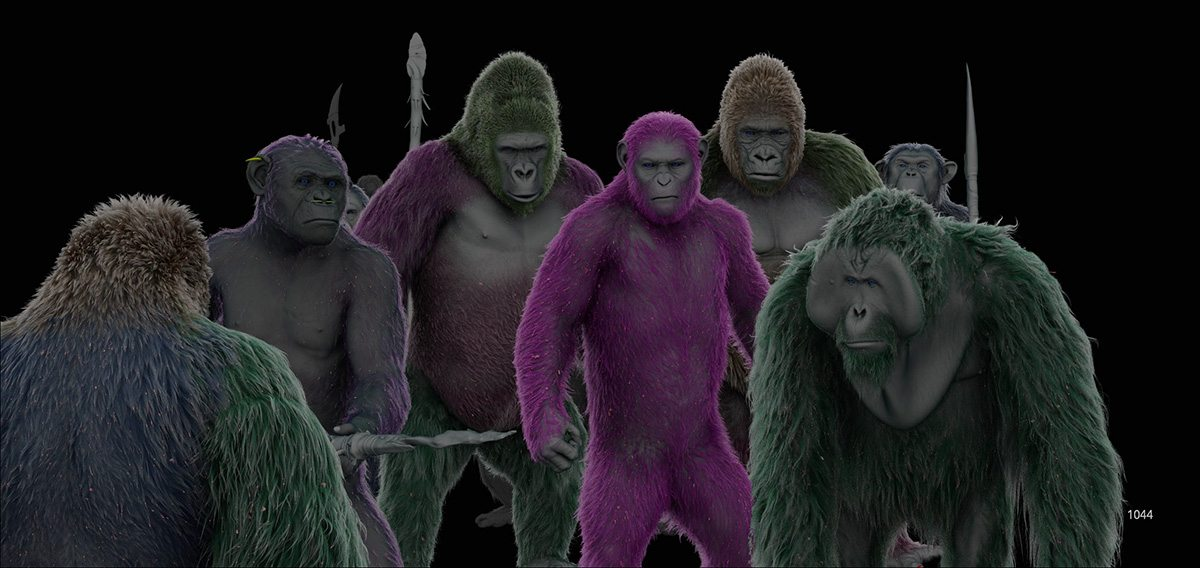 From Performance Capture To Creature How The Apes Were