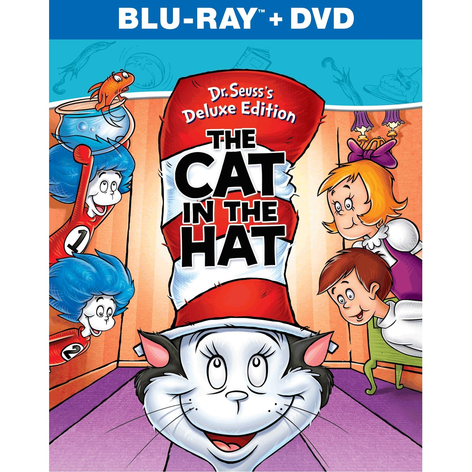 Dr Seuss S The Cat In The Hat Available On Dvd And Blu