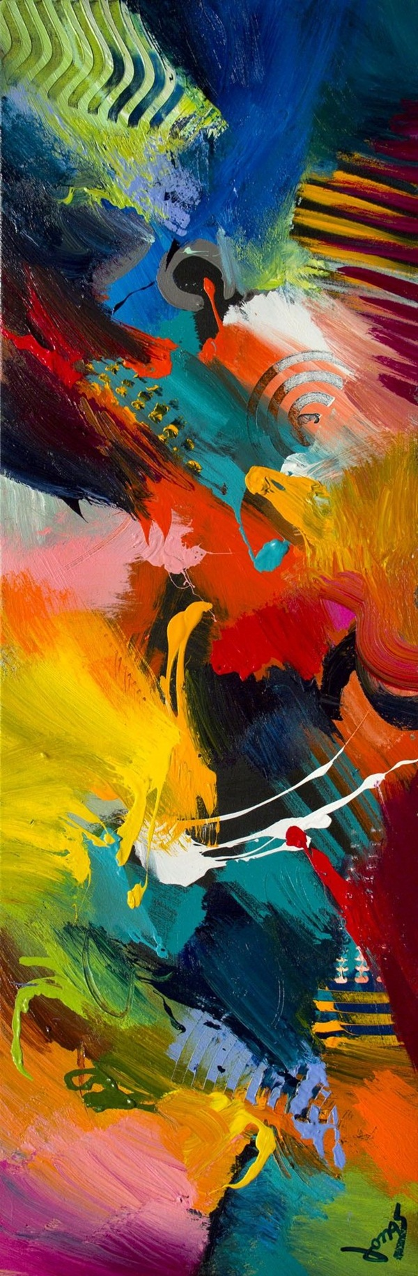 90 Easy Abstract Painting Ideas that look Totally Awesome on Modern Painting Ideas  id=27788