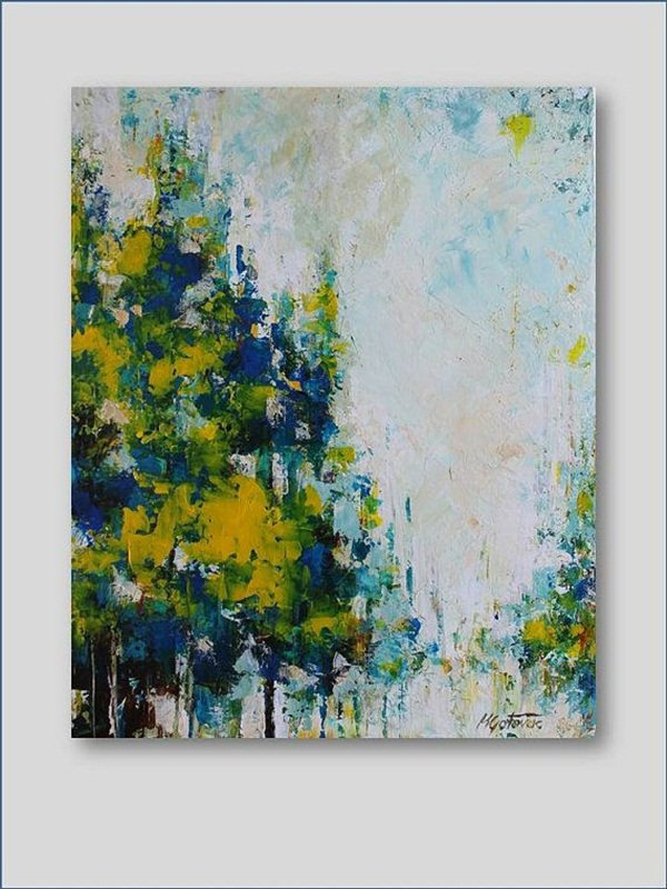 90 Easy Abstract Painting Ideas that look Totally Awesome on Modern Painting Ideas  id=17361