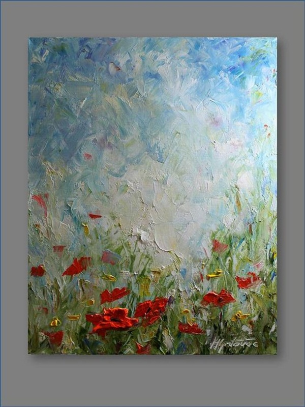 90 Easy Abstract Painting Ideas that look Totally Awesome on Modern Painting Ideas  id=82644