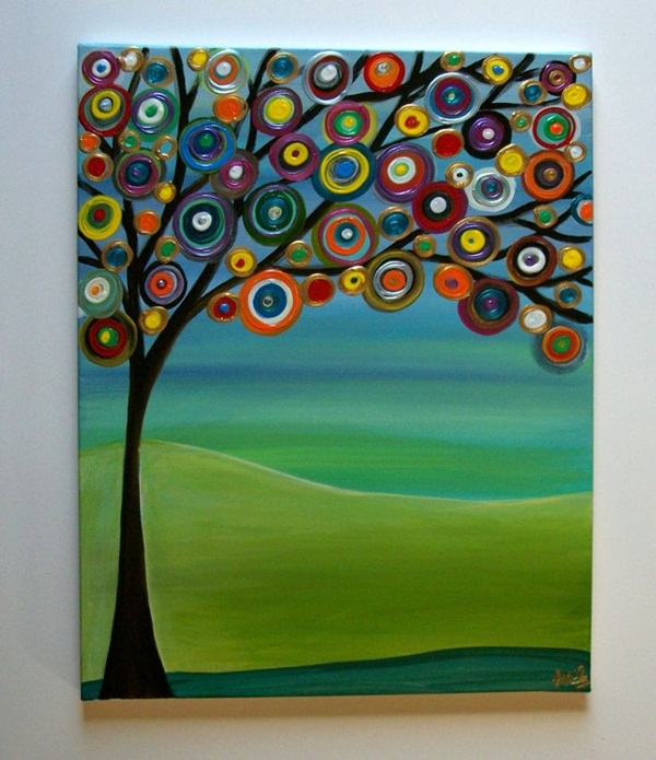 65 Easy Abstract Painting Ideas that look Totally Awesome on Modern Painting Ideas  id=18214