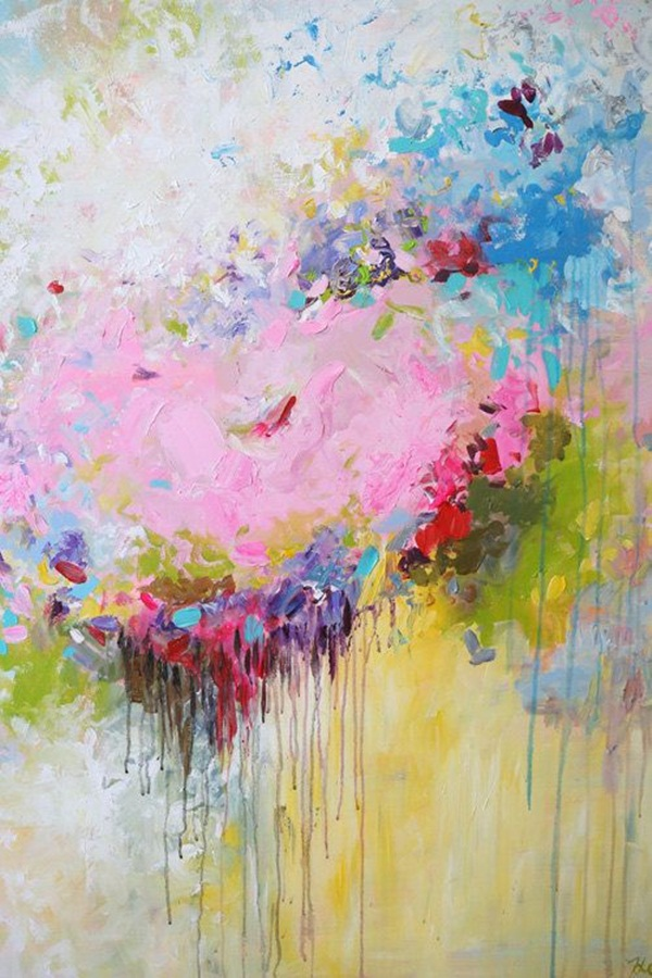 90 Easy Abstract Painting Ideas that look Totally Awesome on Modern Painting Ideas  id=31572