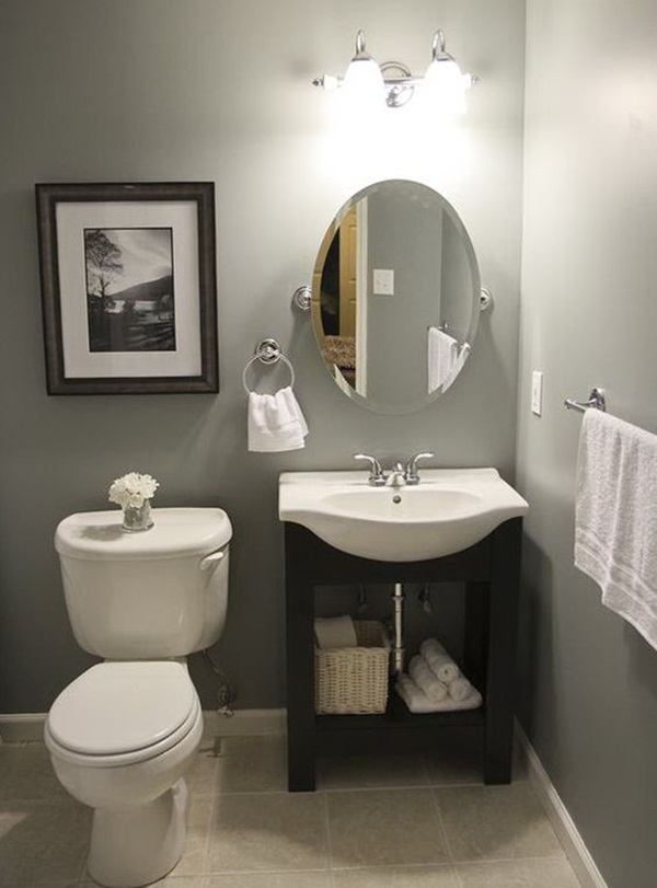 22 Small Bathroom Ideas on a Budget on Bathroom Ideas On A Budget  id=48377