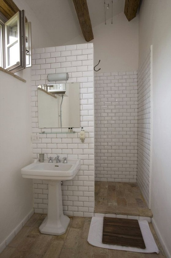 22 Small Bathroom Ideas on a Budget on Bathroom Ideas On A Budget  id=48141