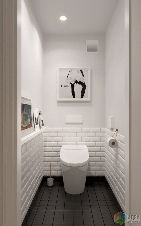 22 Small Bathroom Ideas on a Budget on Bathroom Ideas On A Budget  id=55300