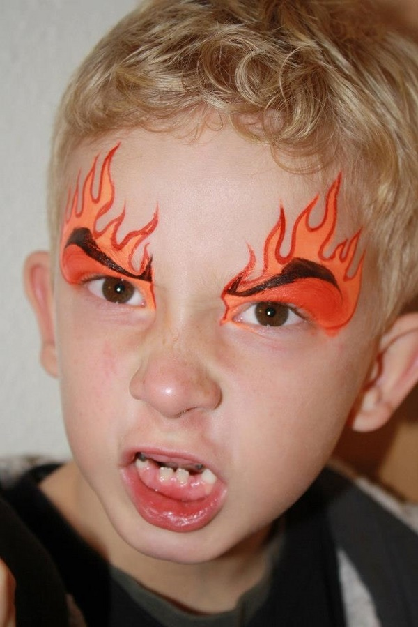 40 Very Simple Face Painting Ideas for Kids simple face painting ideas kids