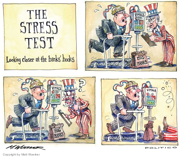 Stress Test Finance: Bank Regulators Clash Over U.S. Stress-Tests Endgame