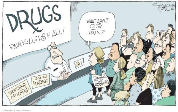 The Drug Addiction Editorial Cartoons | The Editorial Cartoons