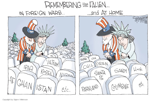 Signe Wilkinson's Editorial Cartoons at www.cartoonistgroup.com - Cartoon  View and Uses