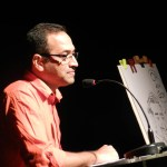 journey of a cartoonist talk in Goa