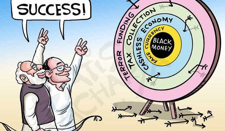 Modi Sarkar claims Demonetisation success!