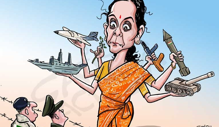 India gets a full-time woman defence minister!