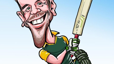 ABD in caricature!