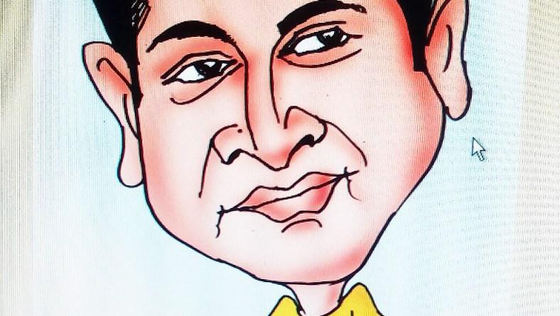 Caricature by Keshav Sasihitlu