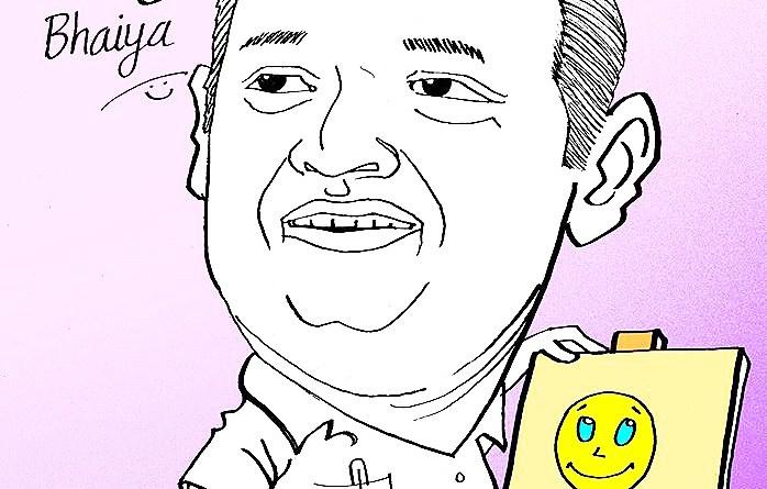 Caricature by Nishant Hota