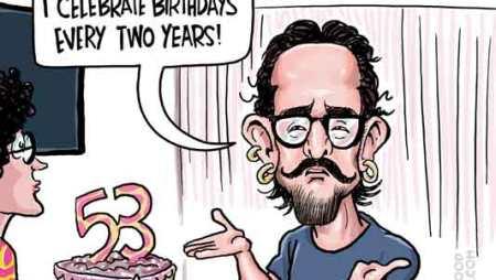 Aamir Khan turns 53!